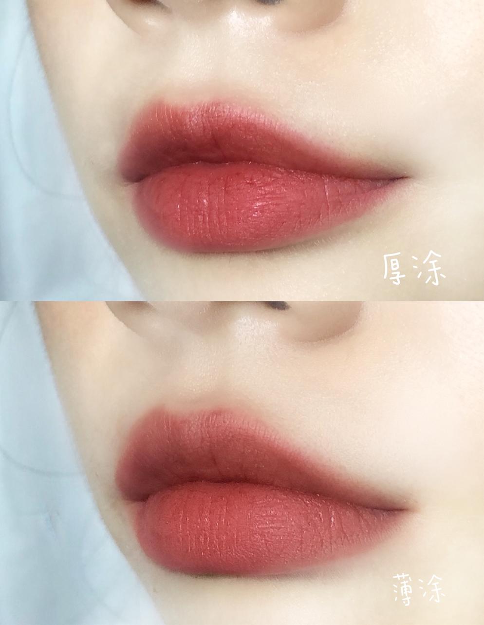 想买很久的口红色!复古唇釉