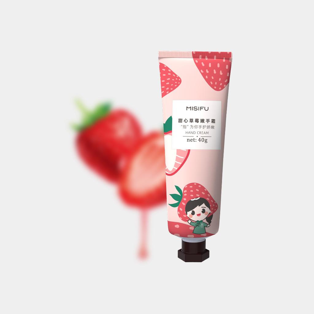 甜心草莓嫩手霜