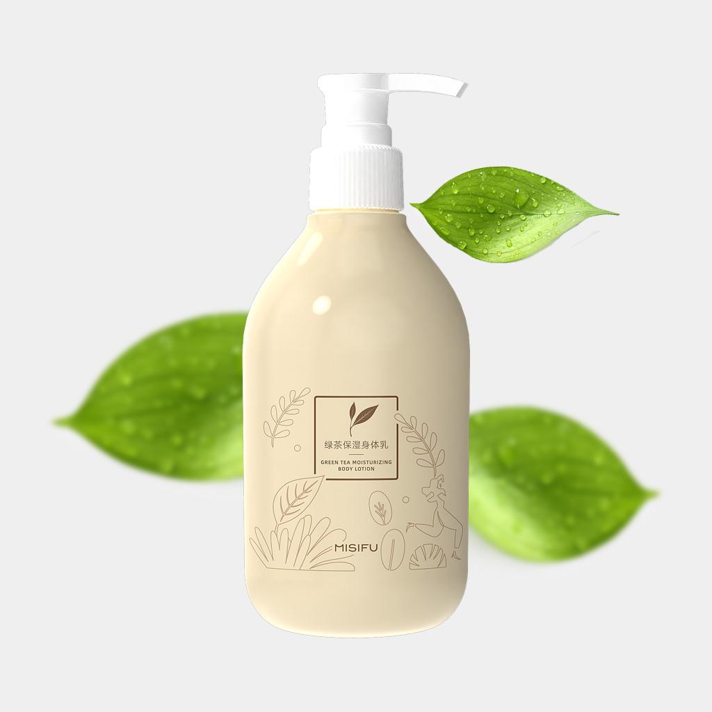 绿茶保湿身体乳